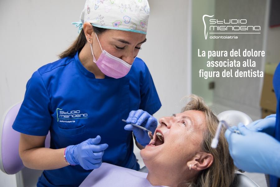 La paura del dolore associata alla figura del dentista