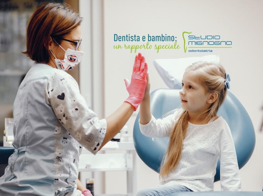 Il dentista e il bambino: un rapporto speciale